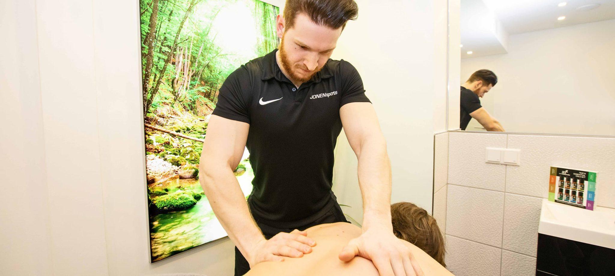 Massage Düsseldorf: Massagen im Private Spa ǀ JONENsports