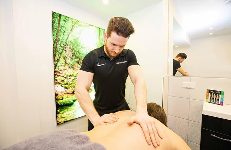 massage bei jonensports mobil